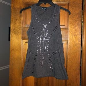 Size Medium Wet Seal Studded Tank Top Tunic
